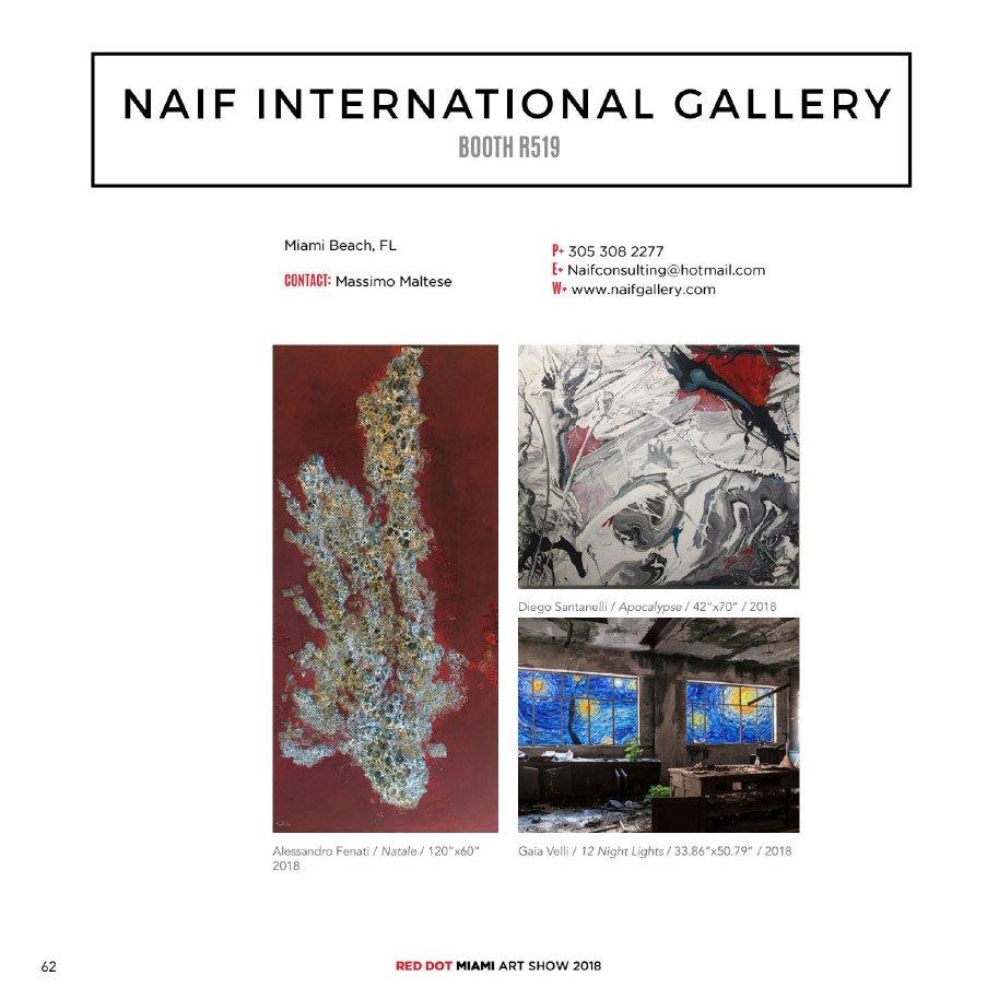 Pagina del catalogo riferita a Gaia Velli